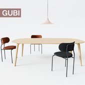 Gubi Coco Chair, Dining Table, Dining Table