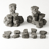 Rock stone collection №6 / Collection of rock № 6