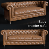 Baby chester sofa