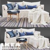 SANDBACKEN 3-seat sofa