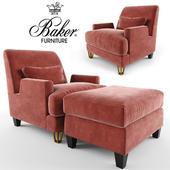 Almandine  Lounge  Chair & VILLA OTTOMAN