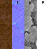 Бесшовная текстура каменной породы