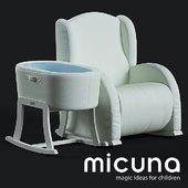 Set Micuna Flor Armchair and cot