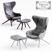 Кресло 395-396 P22 italian luxury Poltrona Frau