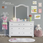 Furniture Legacy Classic, accessories, decor and toys set 5
