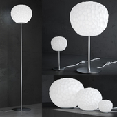 Meteorite lamp - floor and table collection