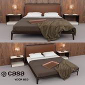 Casa Intl Vidor Bed