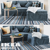 BRATHULT 3-seat sofa