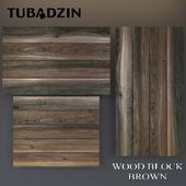 Tubadzin Wood Block Brown