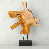 Teak Decorative Figure / ZARA HOME