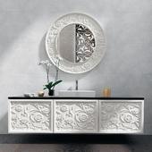 Sink and mirror mirror Elledue_Saraya Notte