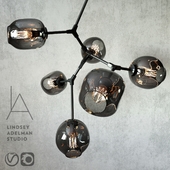 Branching bubble 6 lamps by Lindsey Adelman