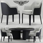 Стол и стулья bentley kendal chair