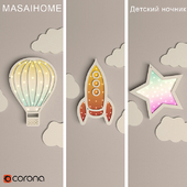 Children's night light MASAIHOME TOUCHLIGHT