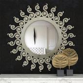 Classic sun mirror