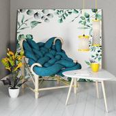 Декоративный набор с крупной вязкой от VeegaDesign