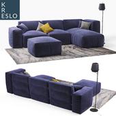 Модульный бескаркасный диван