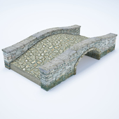 Мостик из каменной кладки