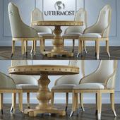 Стол + стулья Uttermost Sylvana