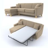 triple corner sofa, трехместный угловой диван