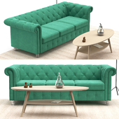 Chesterfield sofa set