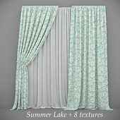 Curtain Summer Lake