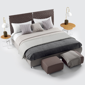 Flexform Cestone Bed