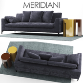Диван Meridiani LOUIS UP Sofa