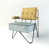 Malmo triangle armchair