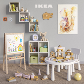 Modular furniture IKEA, accessories, decor and toys set 5