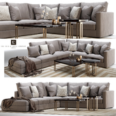 Henley modular sofa and side/coffee table the Sofa and chair company