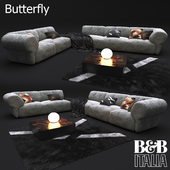 B&B Italia sofa Butterfly