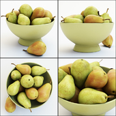 Pears in the vase
