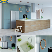 Kitchen ikea set 4