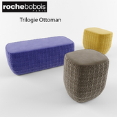 Roche Bobois Trilogie Ottoman