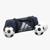 Sports Bag And Soccer Balls