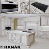 Hanak Royal kitchen set and Gaggenau technique