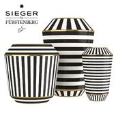 Sieger by Furstenberg Luna Vases