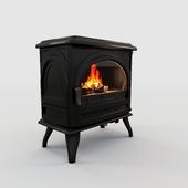 Gas stove GODIN ROYAL 3