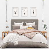 RALEIGH SQUARE TALL STORAGE BED from Pottery Barn