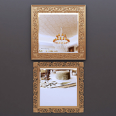 classic frame mirror