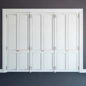 Встроенный шкаф 09\fitted wardrobe 09