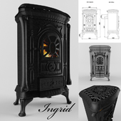 Cast-iron stove of Ingrid