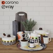 Orla Kiely_kitchen set