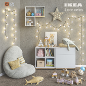 IKEA modular furniture, accessories, decor and toys set 6