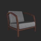 Armchair Baxton Studio Velda Modern Accent Chair