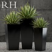 Restoration Hardware terrano planter