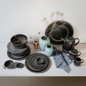 Broste Copenhagen Nordic Coal Ceramics