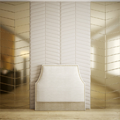 Wall panel, mirror, headboard