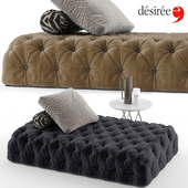 Desiree rocking sofa set